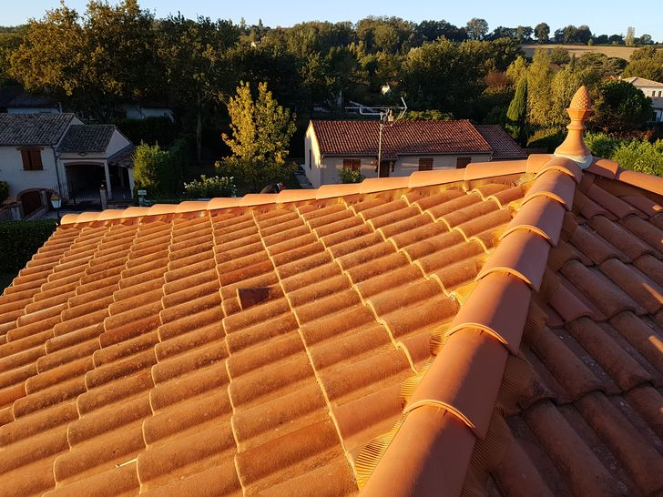 Rénovation de toiture à Sainte Foy d'Aigrefeuille